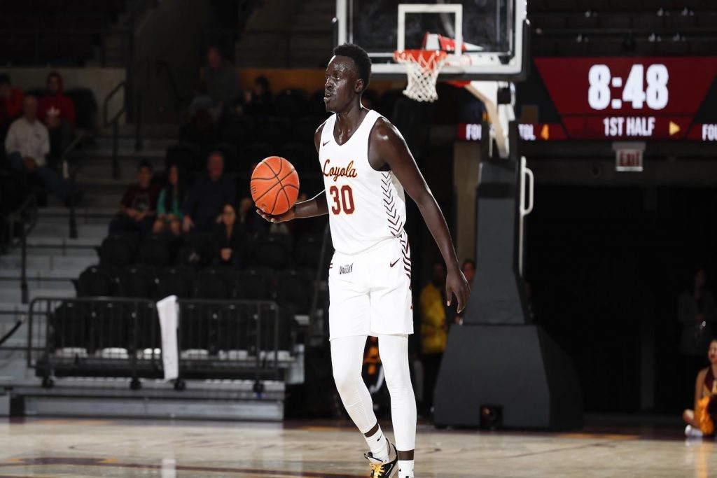 Aher Uguak at Loyola Chicago